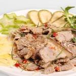 Cách làm món thịt bê tái chanh ngon mà sạch