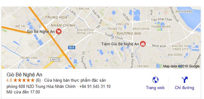 đại lý giò me Nghệ An tại Hà Nội