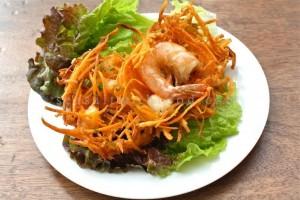 đặc sản Hà Nội: bánh tôm hồ Tây